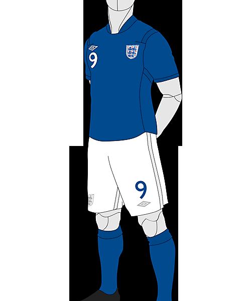England Away Concept