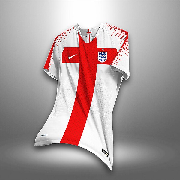 England Home Kit Concept