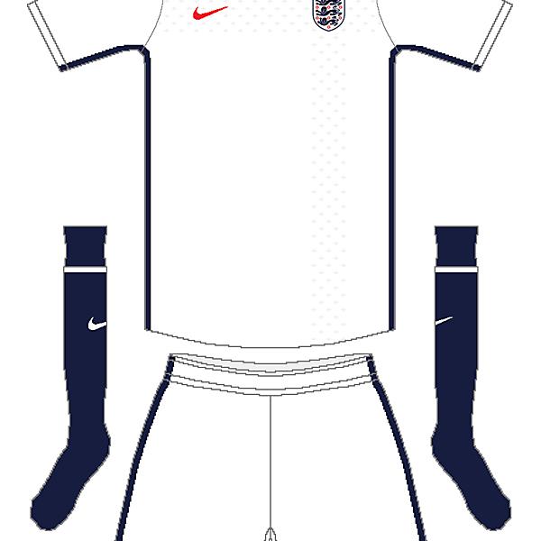 England Nike Home Kit