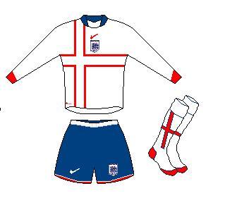 NIke England Home Kit