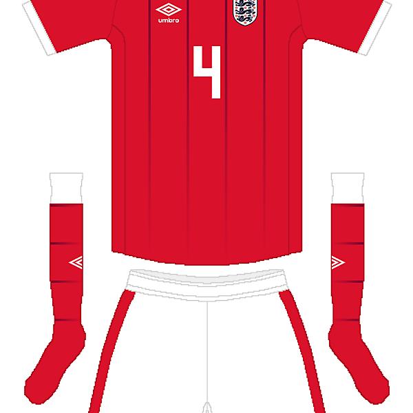 England Umbro Away Kit
