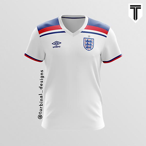 England Umbro Home Concept Kit