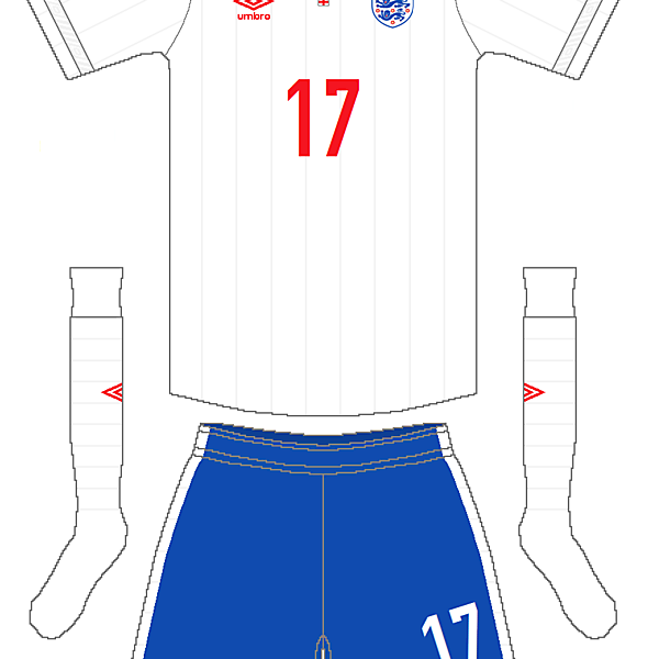 England Umbro Home Kit V.1