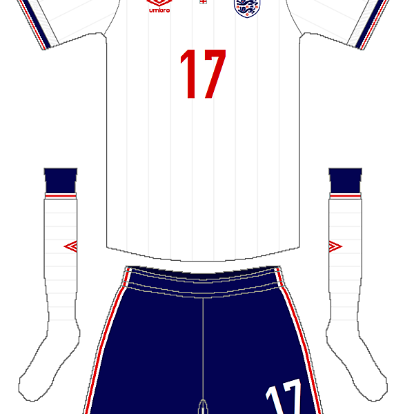England Umbro Home Kit V.2
