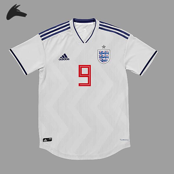 England x Adidas home shirt