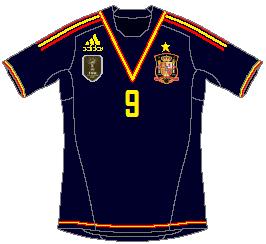Spain (Confederations Cup) Adidas Away