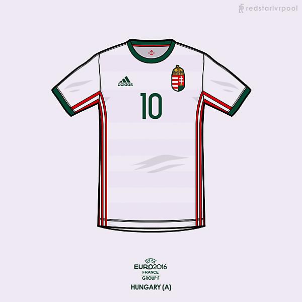 Euro 2016 - adidas Hungary Away