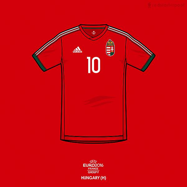 Euro 2016 - adidas Hungary Home