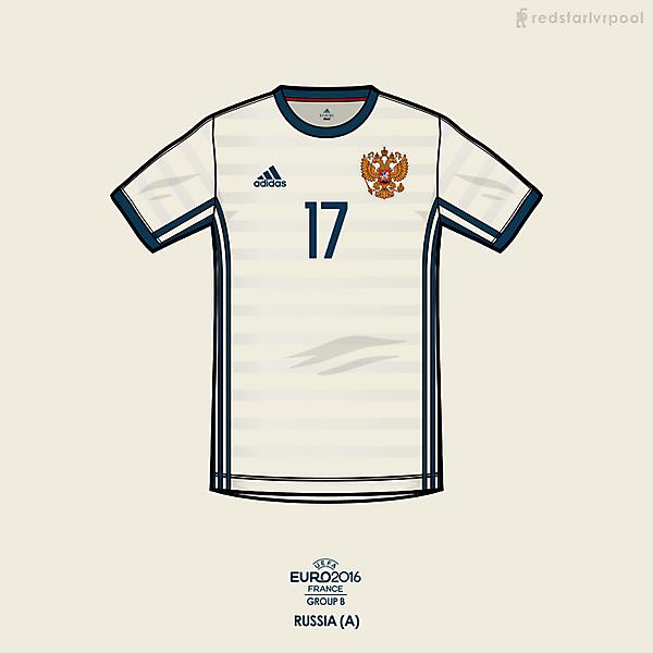 Euro 2016 - adidas Russia Away