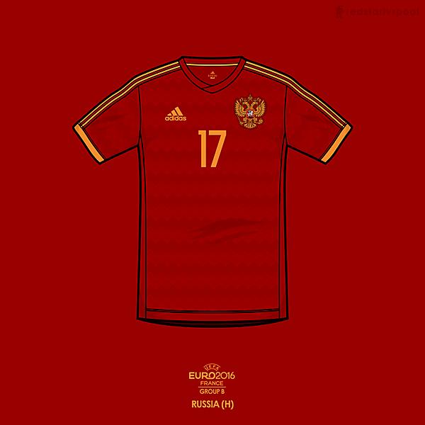 Euro 2016 - adidas Russia Home