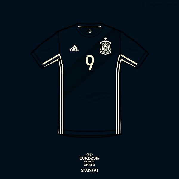 Euro 2016 - adidas Spain Away