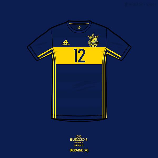 Euro 2016 - adidas Ukraine away