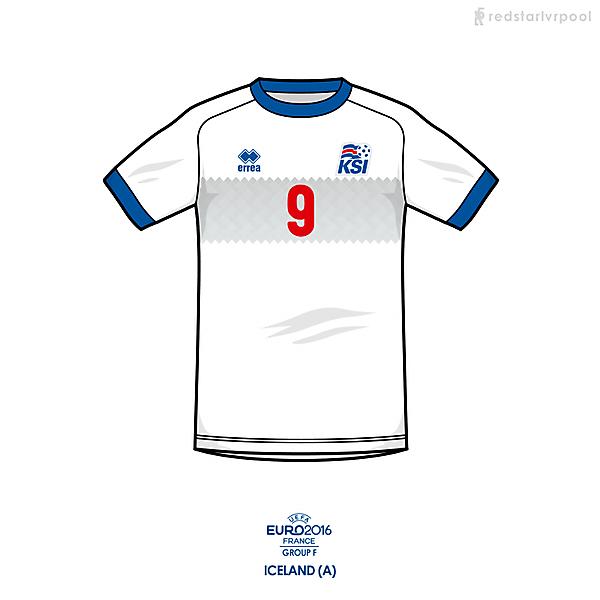 Euro 2016 - Errea Iceland Away