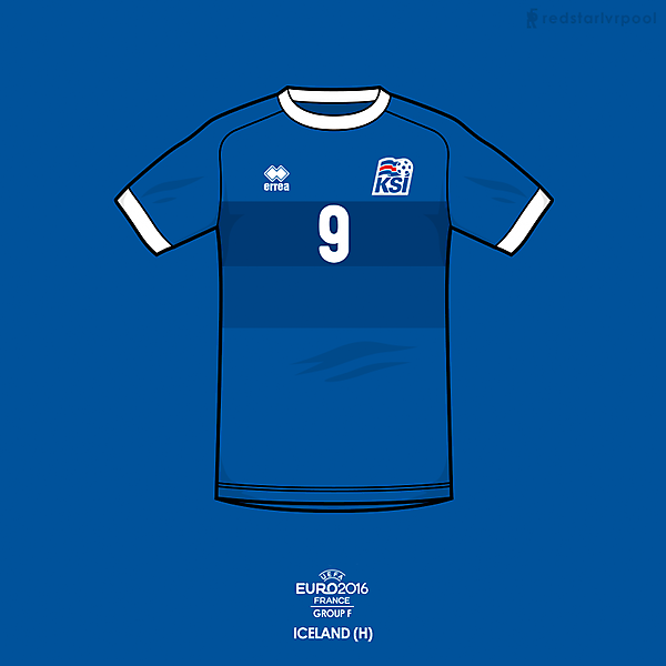 Euro 2016 - Errea Iceland Home