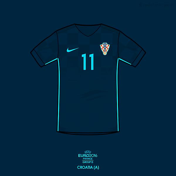 Euro 2016 - Nike Croatia Away