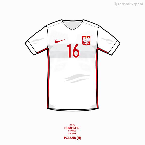 Euro 2016 - Nike Poland home