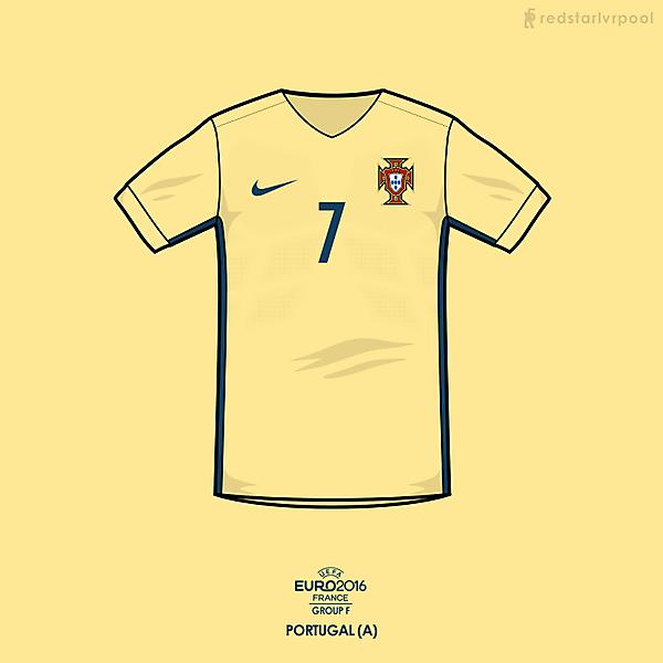 Euro 2016 - Nike Portugal Away