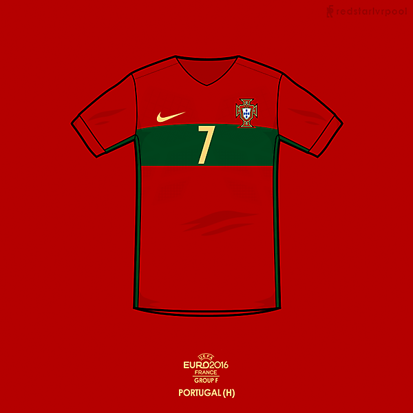 Euro 2016 - Nike Portugal Home