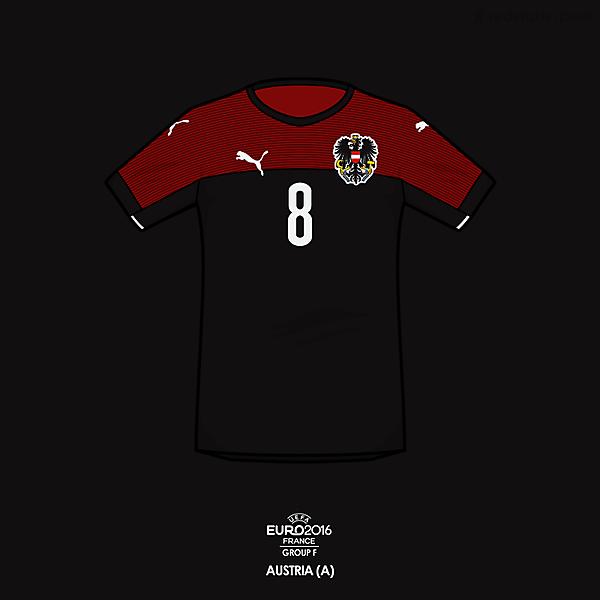 Euro 2016 - Puma Austria Away