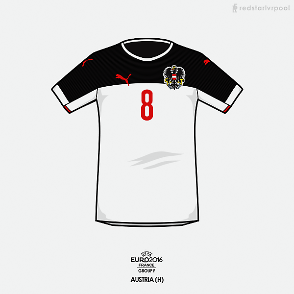 Euro 2016 - Puma Austria Home