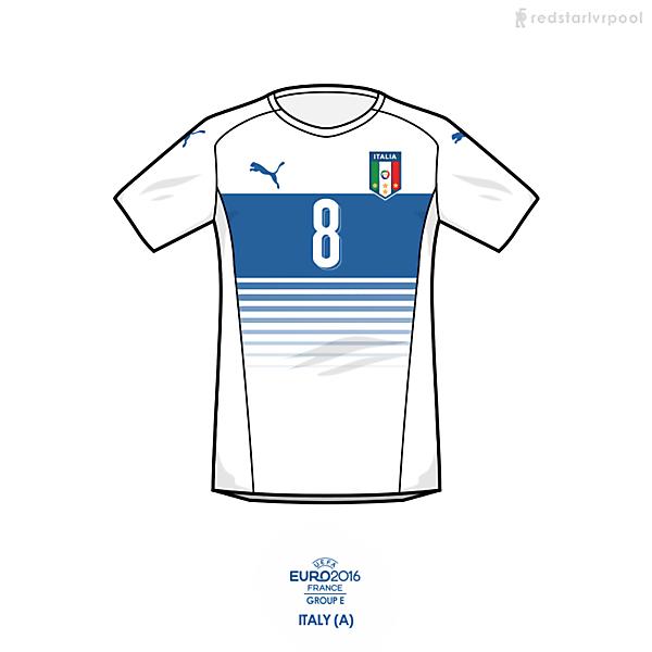 Euro 2016 - Puma Italy Away