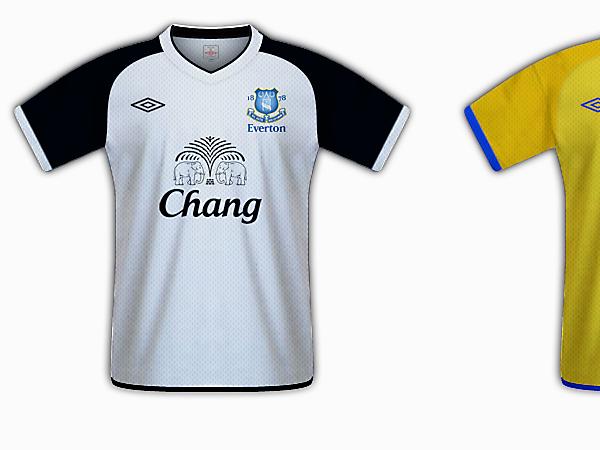 Everton Umbro
