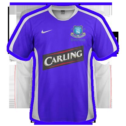 Everton 2015-16 Home Kit