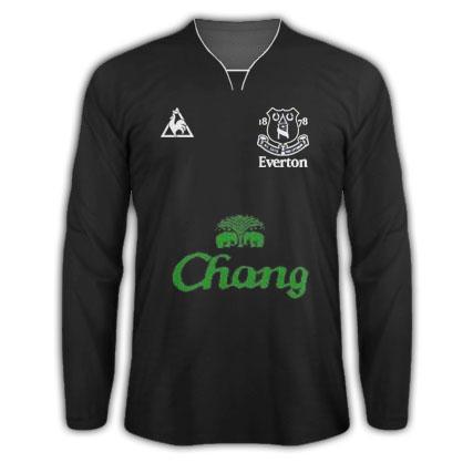 Everton Le Coq Sportif Alternate Shirt 2