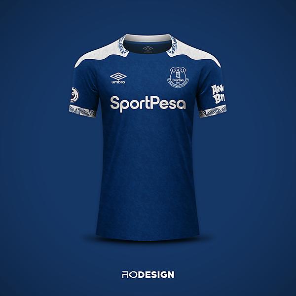 Everton | Umbro | Home