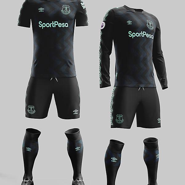 Everton Away 2019/20