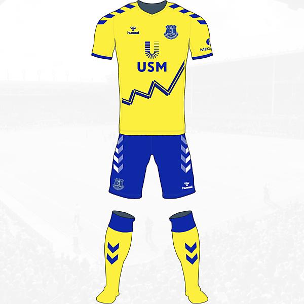 Everton Away Kit Hummel Concept