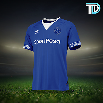 Everton - Home Kit Concept