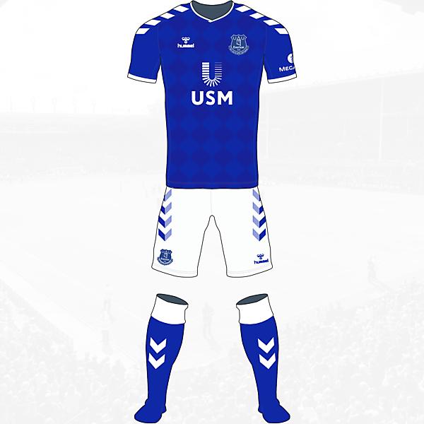 Everton Home Kit Hummel Concept