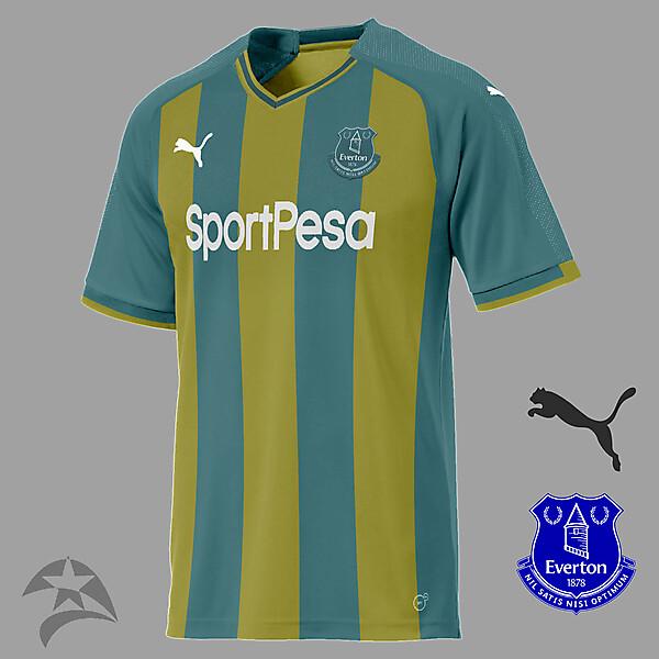Everton Puma away concept
