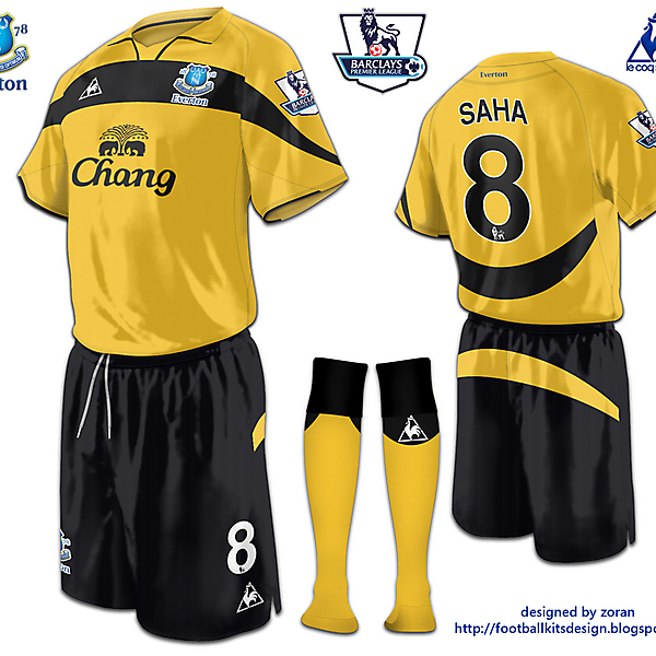 Everton third fantasy