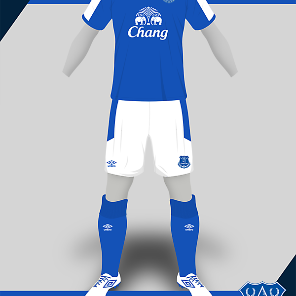 Everton Umbro - New template test