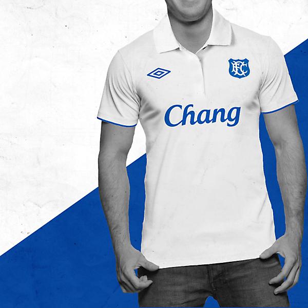 Everton Umbro Away Shirt