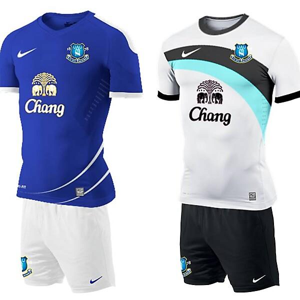 Everton Home and Away