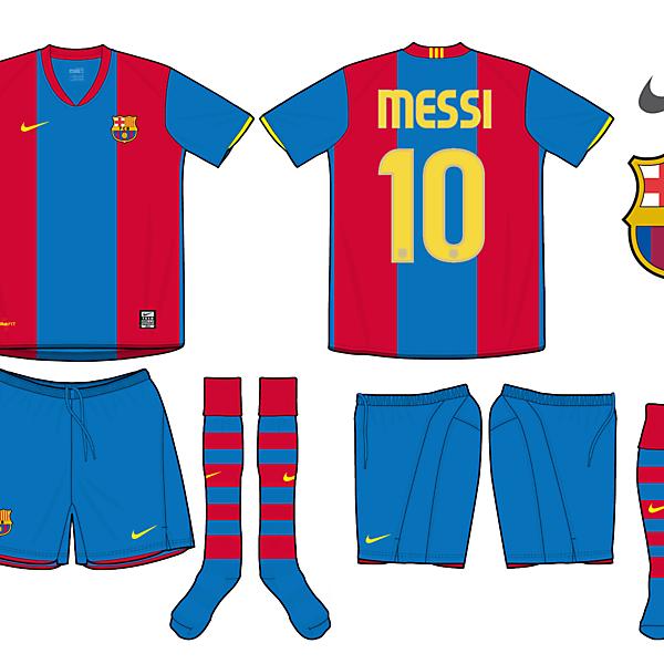 FC Barca Home kit fantasy