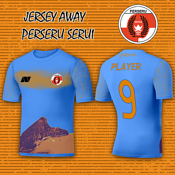 Fantasy Jersey Away Perseru Serui