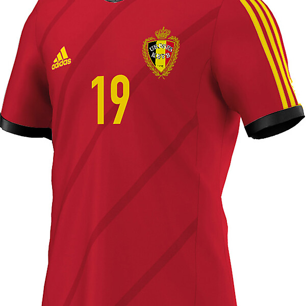 Fantasy shirt Belgium 2014-2015