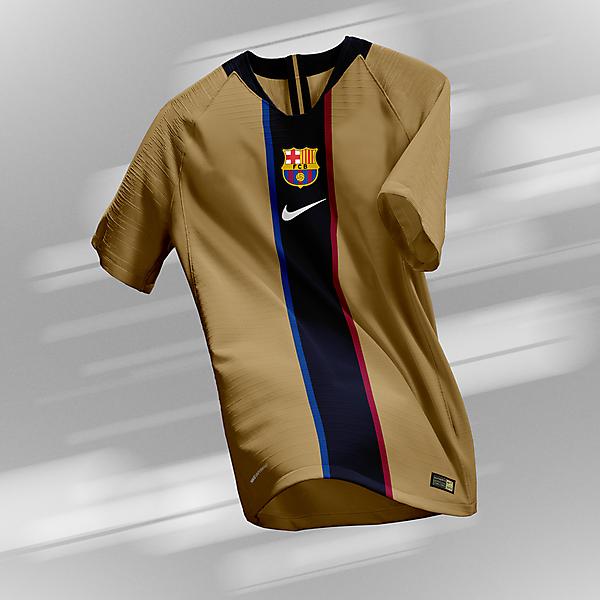 FC Barcelona - Away Kit (2001-03 Retro)