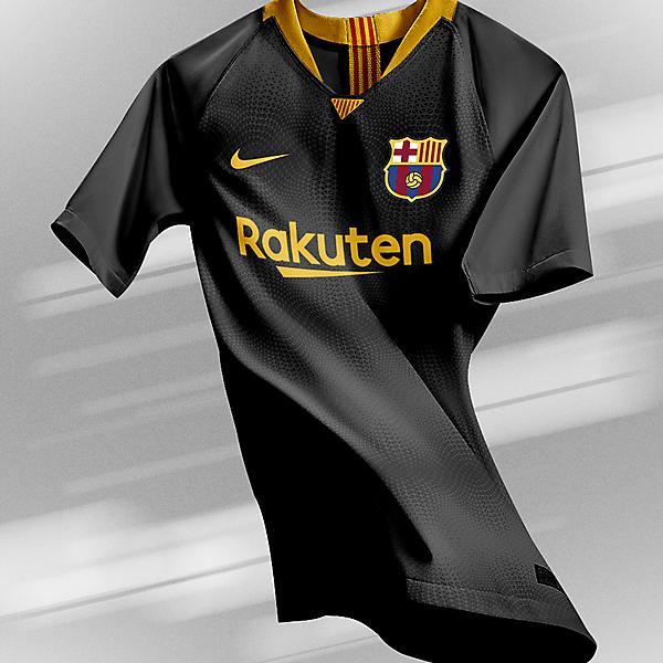 FC Barcelona - Away Kit | New Logo (2019/20)