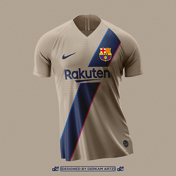 FC Barcelona -  Away Kit (inspired by 2001-03)