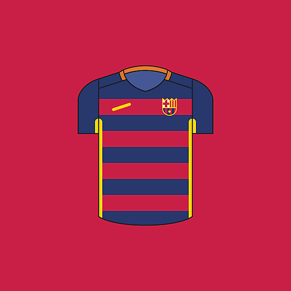 FC Barcelona - Home / Minimalist