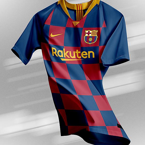 FC Barcelona - Home Kit | New Logo (2019/20)