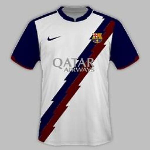 FC Barcelona 2014-15 Home Kit Design [Please Comment]