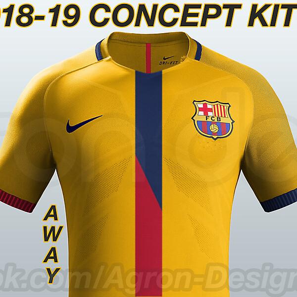 Fc Barcelona 2018-19 Concept Kits