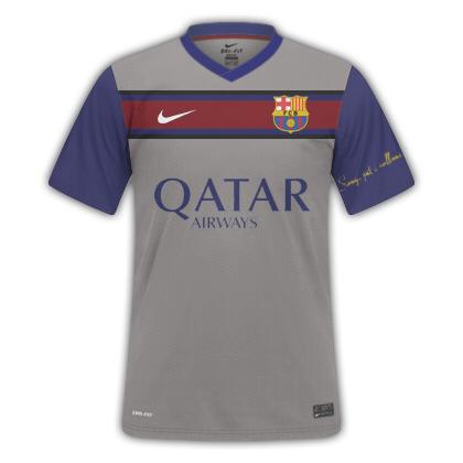 FC BARCELONA AWAY 14-15