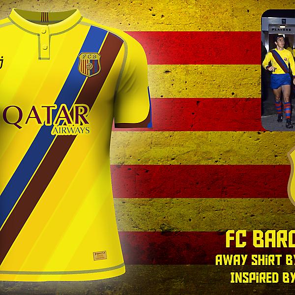 FC Barcelona away jersey (redo)